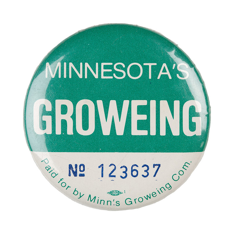 Growe Senate campaign button_1984.
