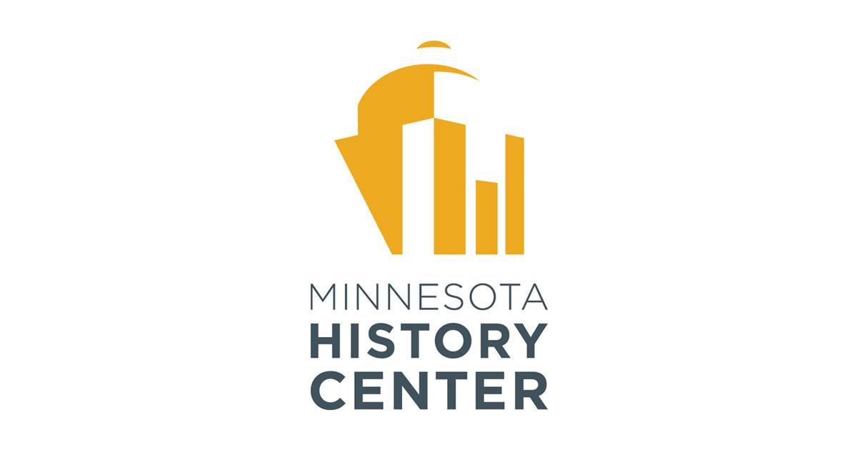 Minnesota History Center logo.