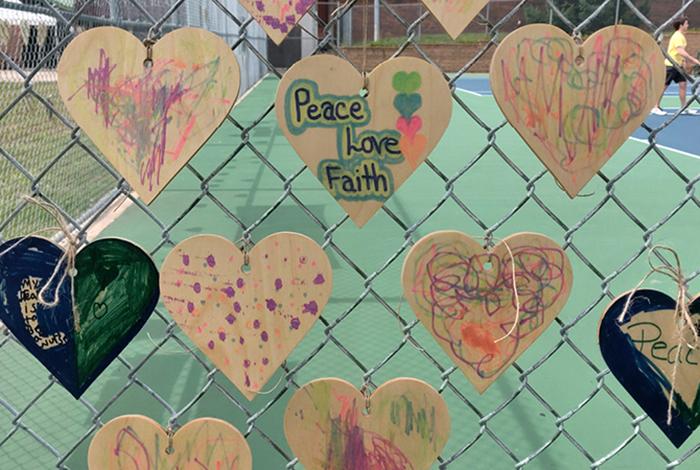 Peace Love Faith.