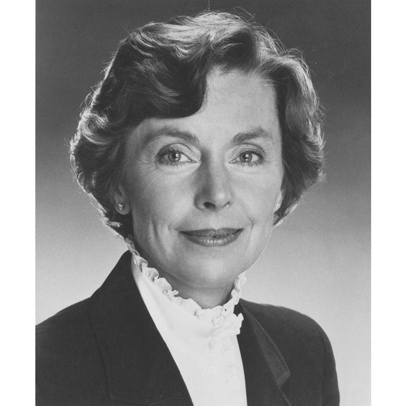 Joan Anderson Growe, 1985.