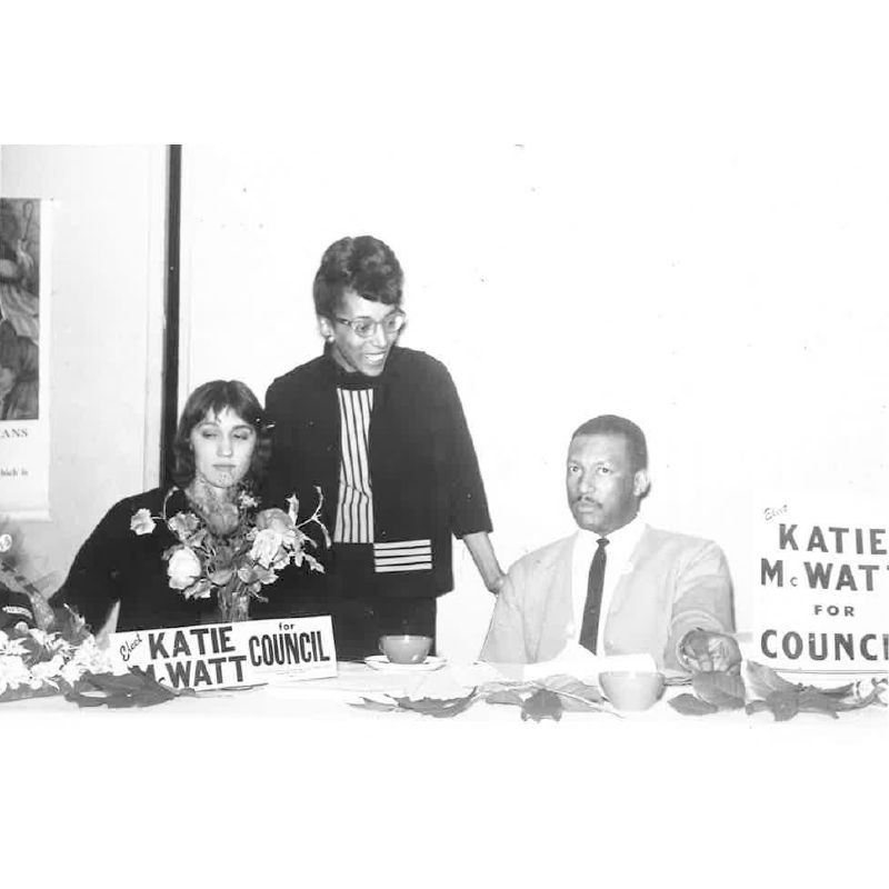 Katie for Council, 1964.