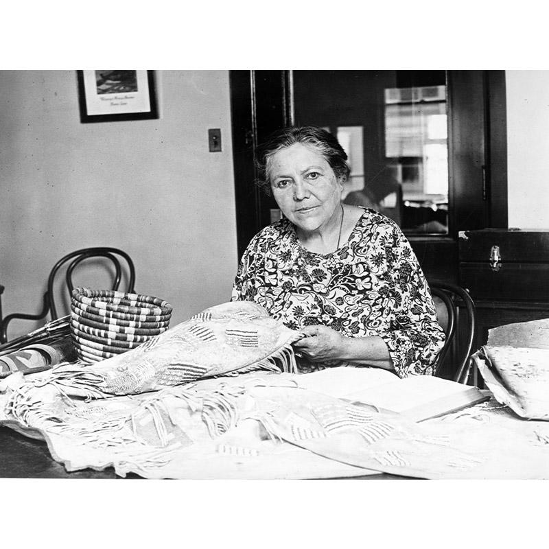Marie Bottineau Baldwin, 1925.