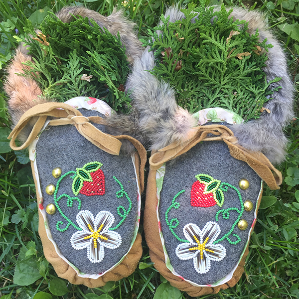 moccasin design by Sarah Agaton Howes