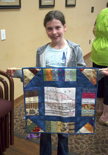 Intergenerational Quilting Project, Warroad.