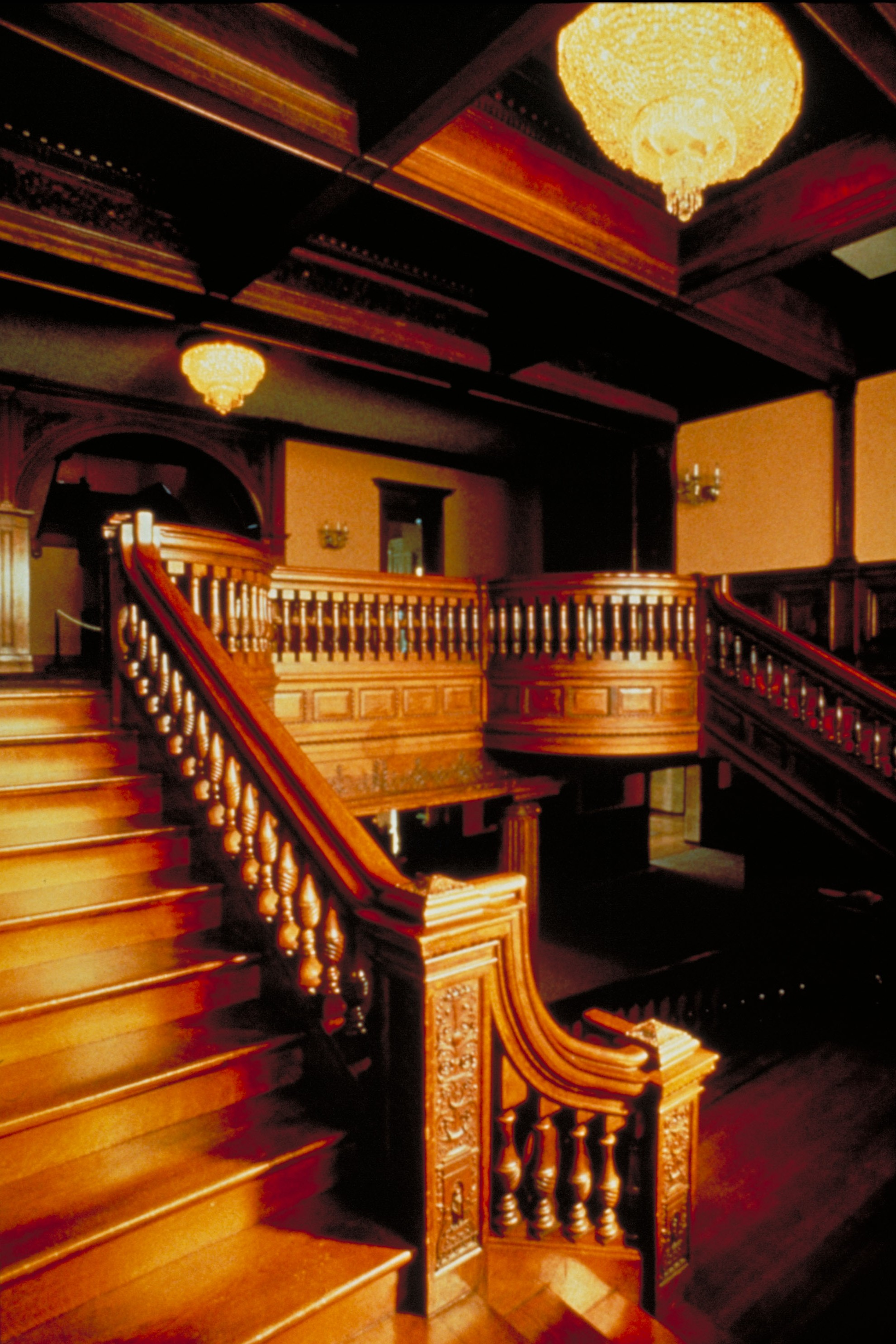 James J Hill House Interior