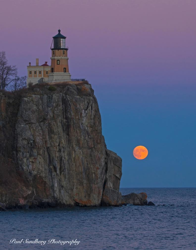 Download high-res image ... & MEDIA ALERT: Historic Supermoon at Split Rock Lighthouse ... azcodes.com