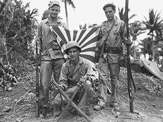 Marines from St. Paul on Guam, 1944. Loc. no. E448.24 p8