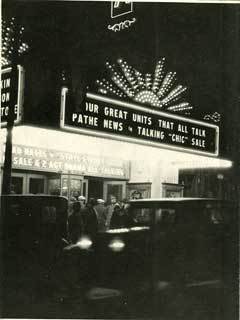 Photo: Riviera Theatre formerly the Astor Theatre, at night, St. Paul, 1928.