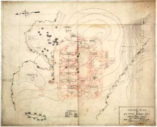 Master plan for CCC Company 3701, Camp Sp-1, Itasca State Park.