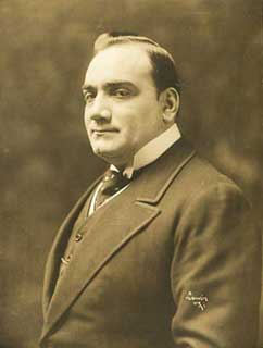 Person: Enrico Caruso.