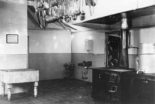CCC camp kitchen, 1936-1938.