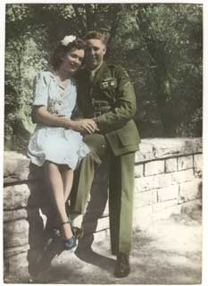 Doris Shea Strand with husband, Errol Fox.