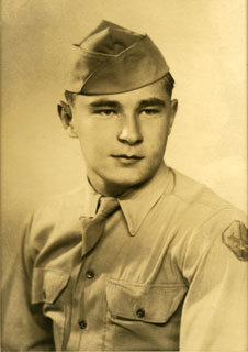 William J. Cameron in uniform, 1944.