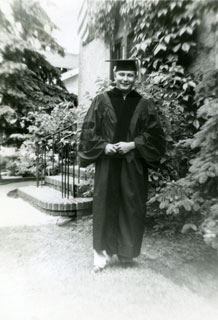 Photo: Dr. William J. Cameron, Doctor of Veterinary Medicine, University of Minnesota, June 14, 1952.