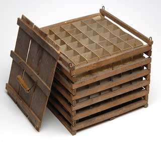 Object: Egg Crate, 1910.