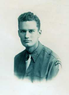 Donald S. Frederick, Fall 1943.