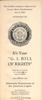 "Document: It's your ""G.I. Bill of Rights""."