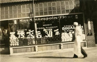 Joe Greenstein's grocery store in North Minneapolis.