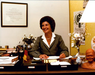 Jane Freeman served as the International Commissioner for the Girl Scouts, 1978 to 1984.