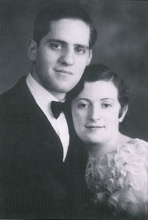 Jim Totino and Rose Cruciani before their marriage, ca. early 1930s.