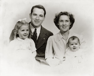 The Maxson family, ca. 1950s.