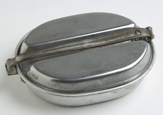 Army issue mess kit, 1942.
