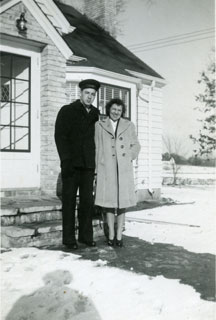 Paul and Marian Maxson, 1943.