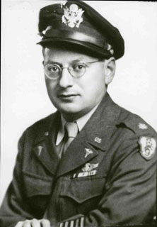 Reuben Berman in uniform, 1948.