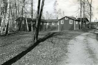 Education building at No. 708 Camp Rabideau, 2002.