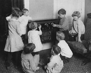 Image result for radio children