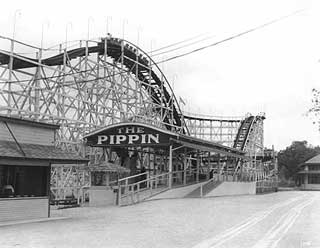 Photo: Wildwood Park rollercoaster, 1927.