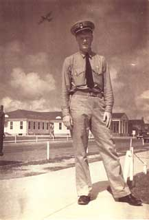 Edward Sovik in Pensacola, Florida, 1942.