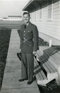 Fredric Steinhauser, Buck Private – Fort Sill, Oklahoma, October 1941.