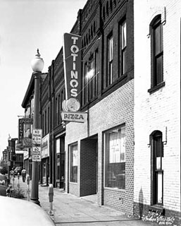 Totino's Italian Kitchen, 523 Central Avenue, Minneapolis, 1957.