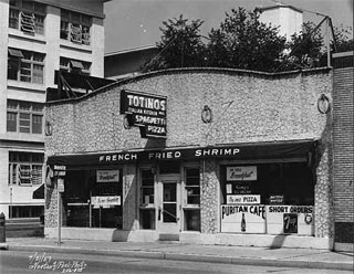 Totino's Restaurant, 918 West Lake, Minneapolis, 1957.