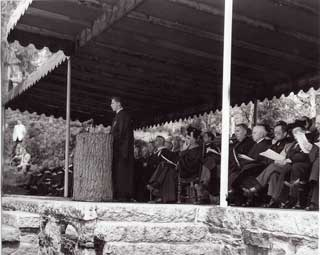 Valedictory address by Charles M. Pearson, Dartmouth Class of 1942, May 10, 1942.