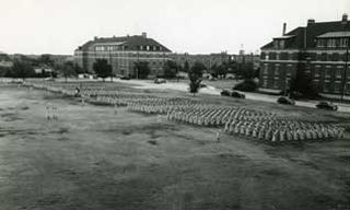 Photo: Regimental Review, Oklahoma A&M, Stillwater, Okla. August 