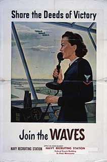Poster: Share the Deeds of Victory - Join the WAVES.