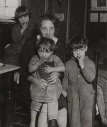 Farm children during the depression
