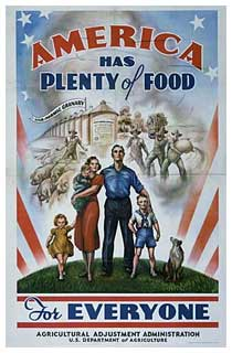 Poster from U.S. Dept of Agriculture
