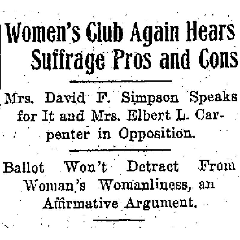 The Minneapolis Morning Tribune, November 10, 1914.