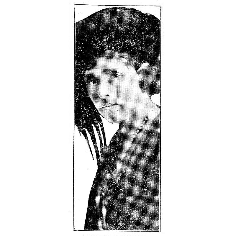 Nellie Francis, 1921.