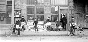 Minneapolis Journal newsboys