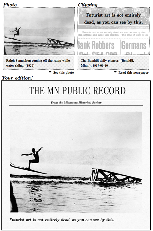 MN History Roulette example
