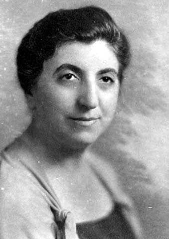 Fanny Fligelman Brin (1884-1961).