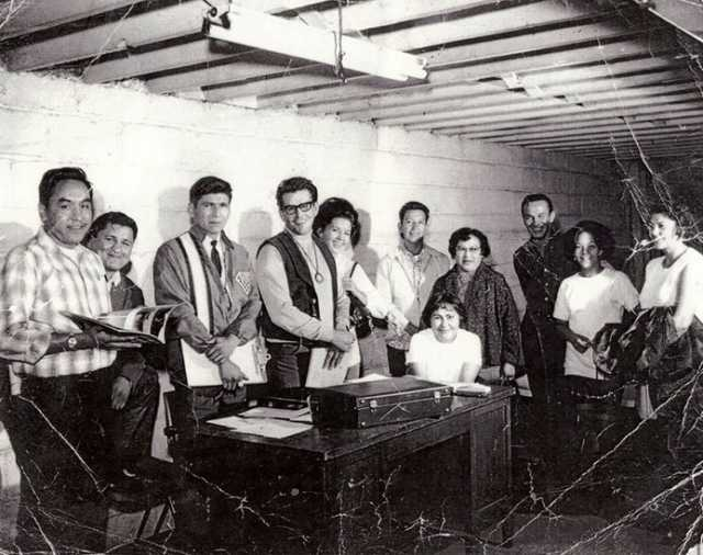 The first board members of the American Indian Movement (AIM), 1968.