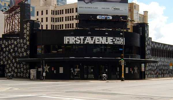 First Avenue nightclub, 2005. Photograph by Wikimedia Commons user Mulad.