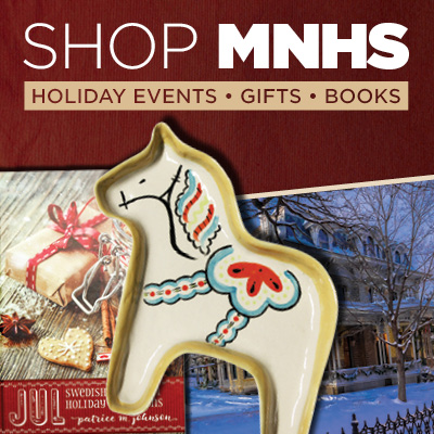 Shop MNHS holiday events, gifts, books