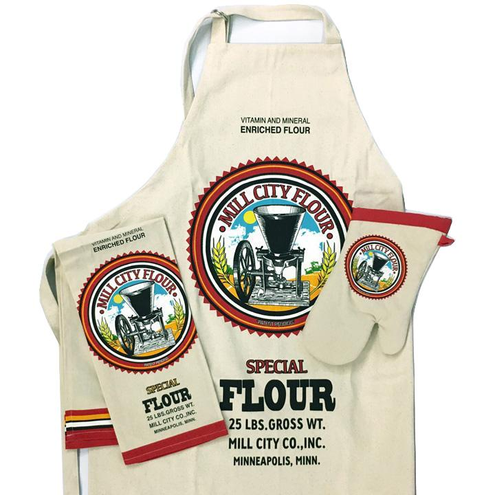Mill City Flour Sack Chef Set.