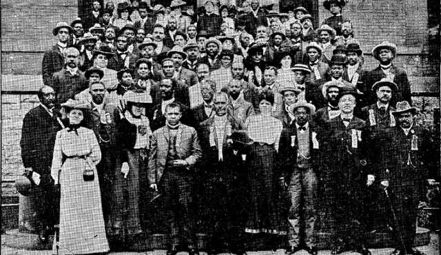National Afro-American Council meeting, St. Paul, 1902.